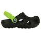Crocs Swiftwater Sandalen Kinderen groen/zwart